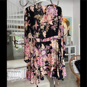 Blueskies mini wrap dress